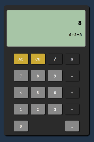 TI-85 colored caclulator